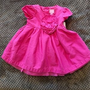 The children's place |pink spring dress| 3-6m